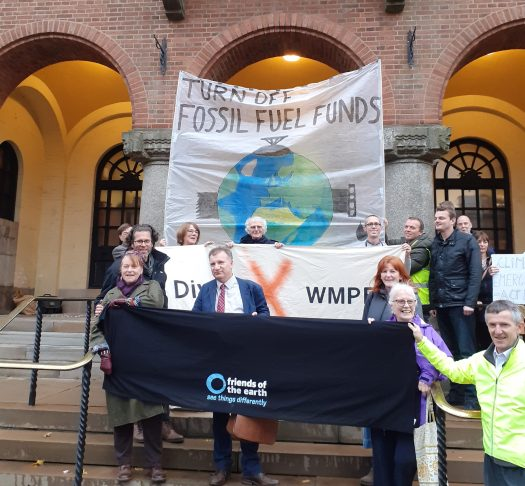 Vigil outside the Council House